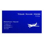 Blue Plane Business Card Templates