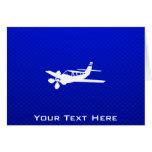 Blue Plane Card