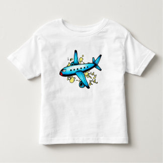 Blue Plane Guy Toddler T-shirt