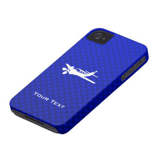 Blue Plane iPhone 4 Cover
