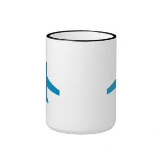 Blue Plane Coffee Mug