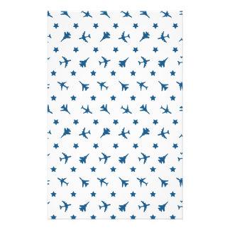 Blue Planes Pattern Flyer