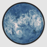 Blue Planet - Blue Moon Classic Round Sticker