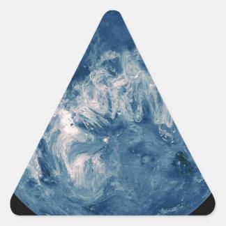 Blue Planet - Blue Moon Triangle Sticker