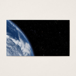 blue planet business card