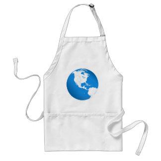Blue Planet Earth Apron