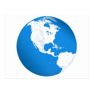 Blue Planet Earth Postcard