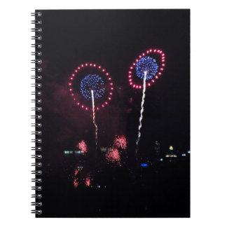 Blue Planet Fireworks I notebook