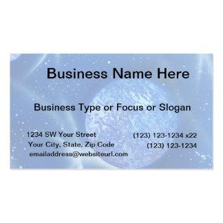 blue planet sky spacepainting business card