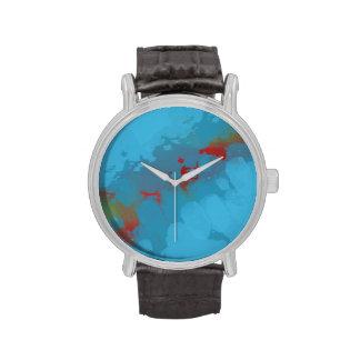 Blue planet wrist watches