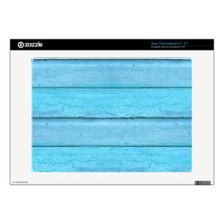 Blue Planks Decal For Acer Chromebook