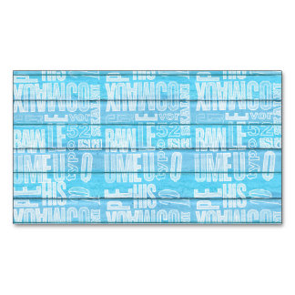 Blue Planks Magnetic Business Card