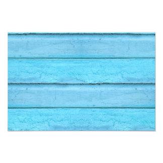 Blue Planks Photo Print