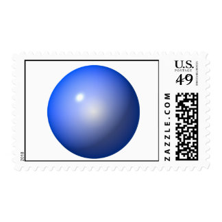 Blue Plastic ball graphic design background icon Postage
