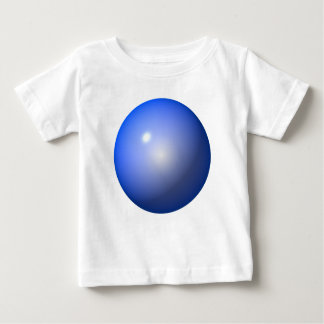 Blue Plastic ball graphic design background icon Tee Shirts