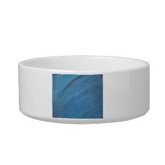Blue Plastic Mesh Pet Bowls
