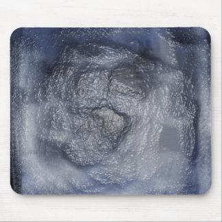 Blue Plastic Mouse Pad