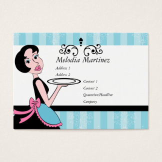Blue Plate Special Business Card