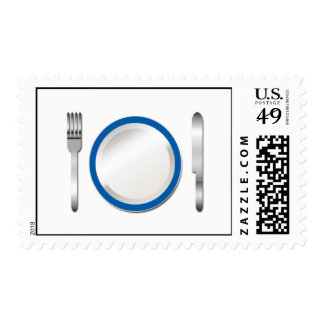 Blue Plate Special Postage Stamp