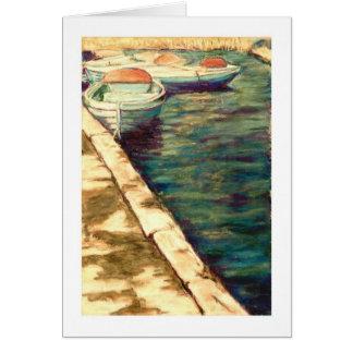 Blue Pleasure Boats Card