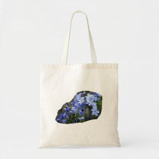 Blue Plumbago Flowers Cascade Photo Bag