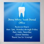 Blue Plunge Dental or Dentist Office Posters