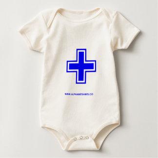 Blue Plus Baby Bodysuit