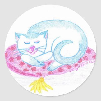 Blue Point Siamese Sticker