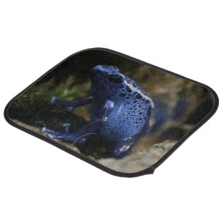 Blue Poison Arrow Frog Car Mat