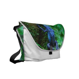 Blue Poison Arrow Frog Courier Bag
