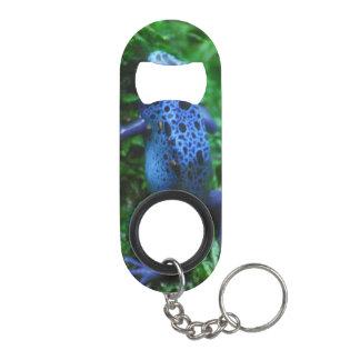 Blue Poison Arrow Frog Keychain Bottle Opener