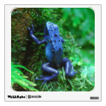 Blue Poison Arrow Frog Wall Sticker