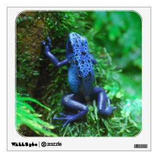 Blue Poison Arrow Frog Wall Sticker