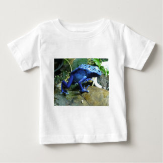 Blue Poison Dart Frog Baby T-Shirt