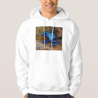 Blue Poison Dart Frog Dendrobates Azureus Hoodie