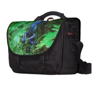 Blue Poison Dart Frog Commuter Bag