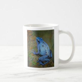 Blue Poison Dart Frog Mug