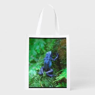 Blue Poison Dart Frog Market Tote