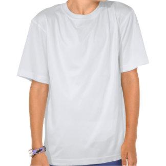Blue poker chips t shirt