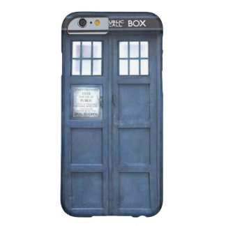 Blue Police Box iPhone 6 Case