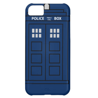 Blue Police Call Box iPhone 5C Cover
