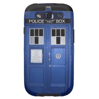 Blue Police Call Box (photo) Galaxy SIII Case