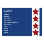 Blue Political - Chubby Large Business Cards (Pack Of 100)