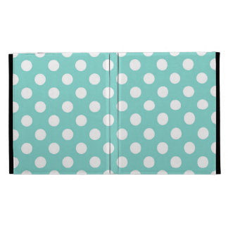 Blue Polka Dot iPad Folio Cases