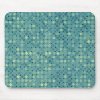 Blue Polka Dot Mousepad