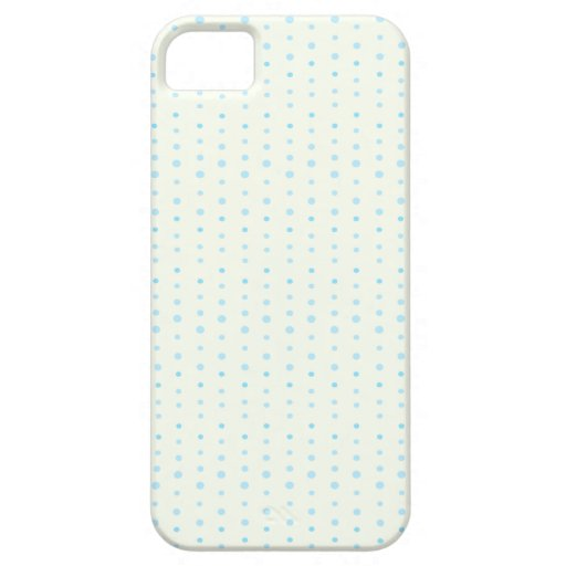 Blue Polka-dot Pattern iPhone 5 Cover