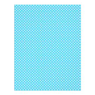 Blue Polka Dot Scrapbook Paper