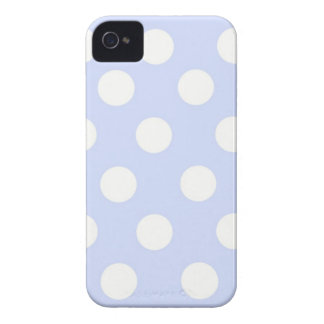 blue polka dots Blackberry bold case