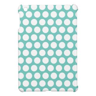 Blue polka dots case for the iPad mini