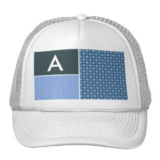 Blue Polka Dots Trucker Hat